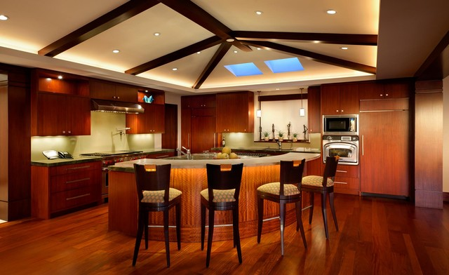 Hermosa Beach Residence Tropical Kitchen Los Angeles by – Tropical Kitchens