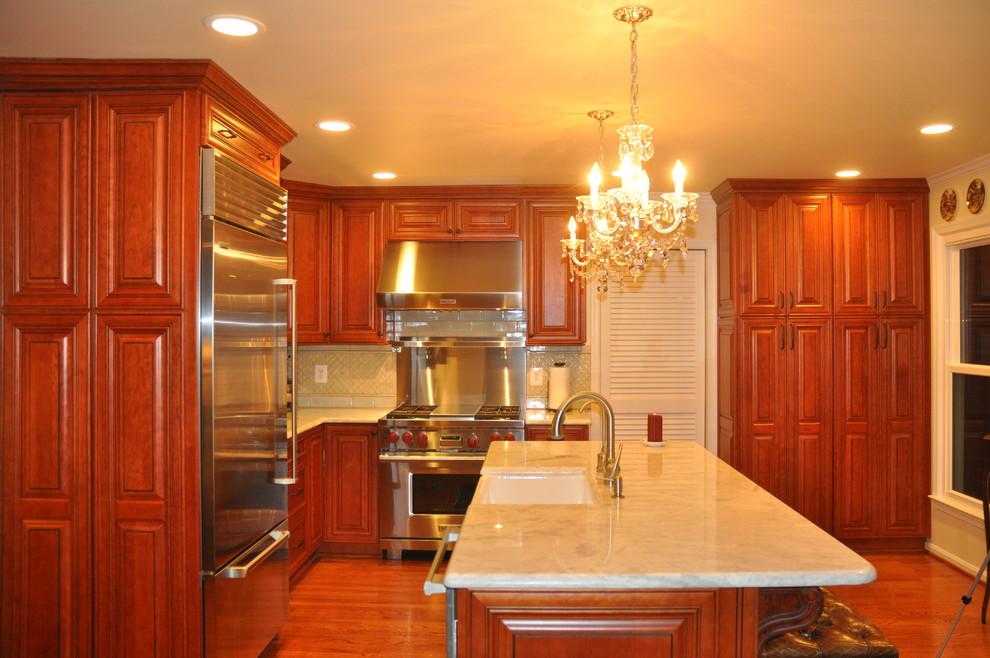 Herndon, VA Kitchen Renovation - Traditional - Kitchen ...