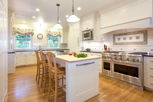 Hewett Kitchen & Addition traditional-kitchen