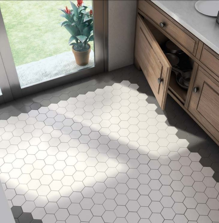 Hexagon Tiles Kitchen Chicago By Home Carpet One
