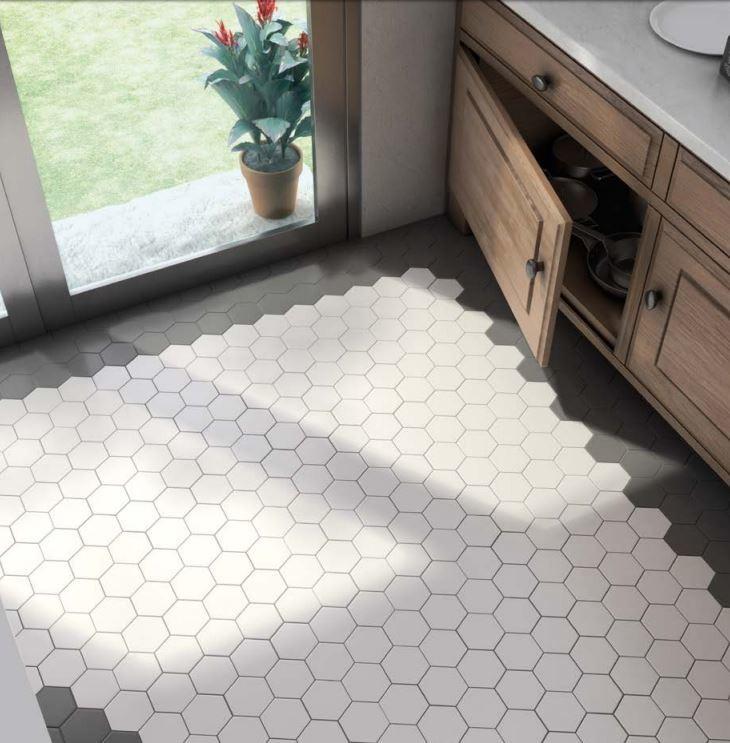 Hexagon Tiles Kitchen Chicago By