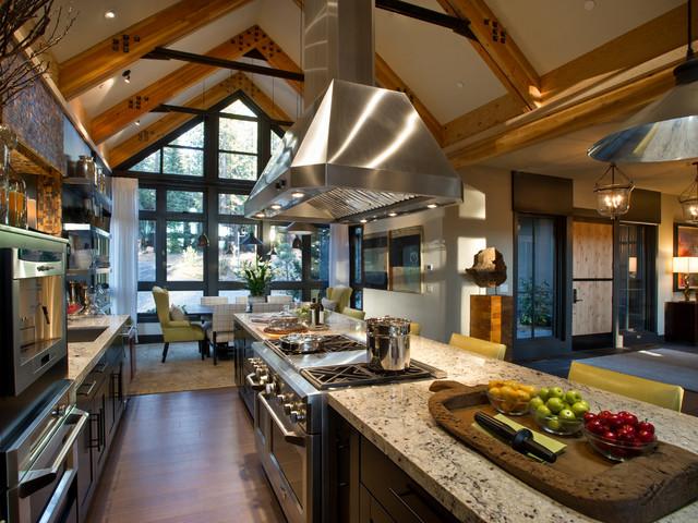 Dream Rustic Kitchens hgtv dream home 2014 - rustic - kitchen - los angeles -