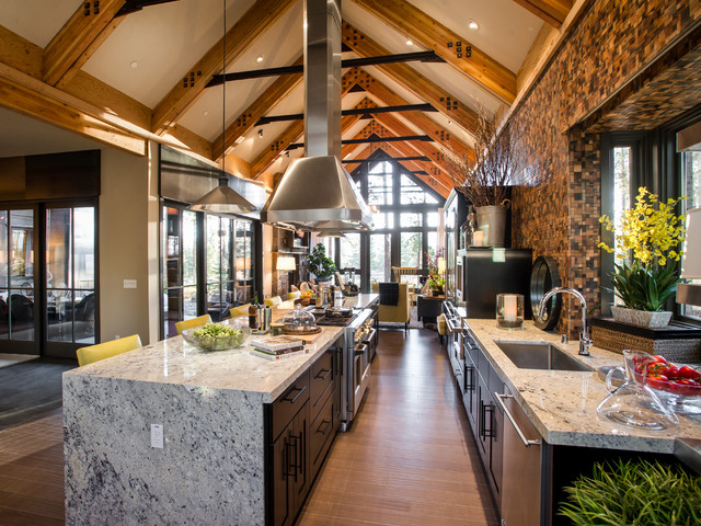 HGTV Dream Home 2014 - Rustic - Kitchen - los angeles - by