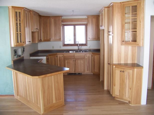 kitchens with hickory cabinets hickory cabinets 22283