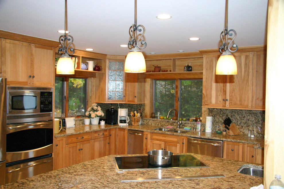 Hickory Cabinets Kitchen - Traditional - Kitchen - DC ...