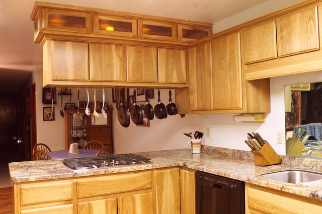Hickory kitchen remodel traditional-kitchen