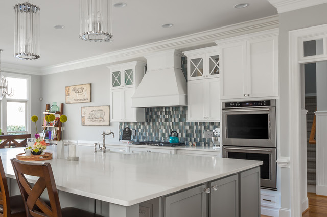 Hickory Leaf - Transitional - Kitchen - Raleigh - by TEW Design Studio