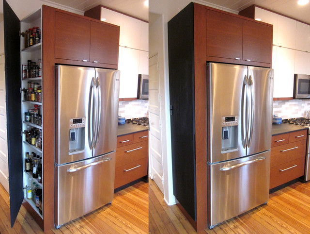 Hidden Cabinet - Modern - Kitchen - louisville - by Rock ...