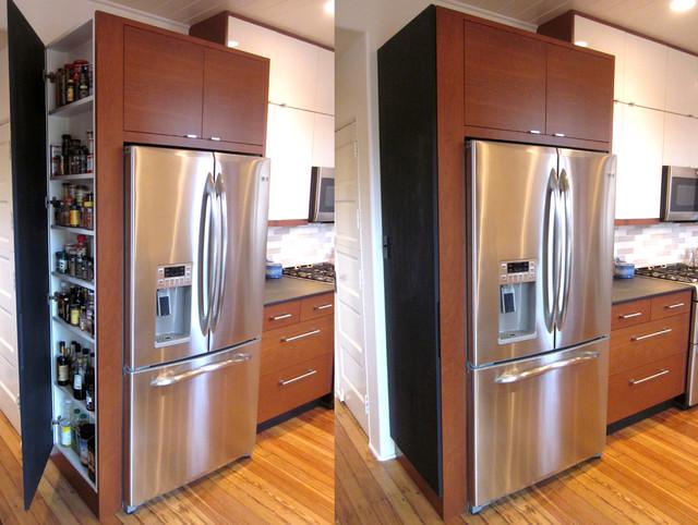 Hidden Cabinet Modern Kitchen Louisville By Rock Paper Hammer