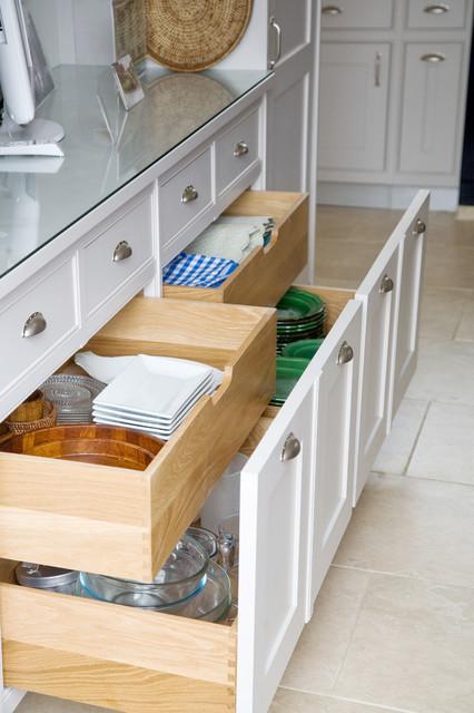 hidden kitchen transitional with - photo #43