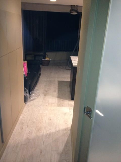 hidden kitchen transitional with - photo #38