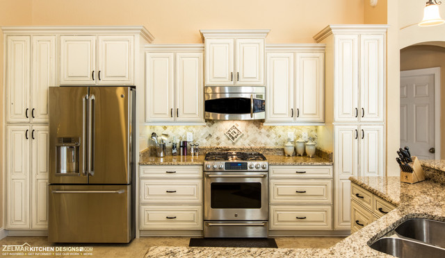 Hierholzer Waypoint Zelmar Kitchen Remodel Traditional Kitchen Orlando By Zelmar