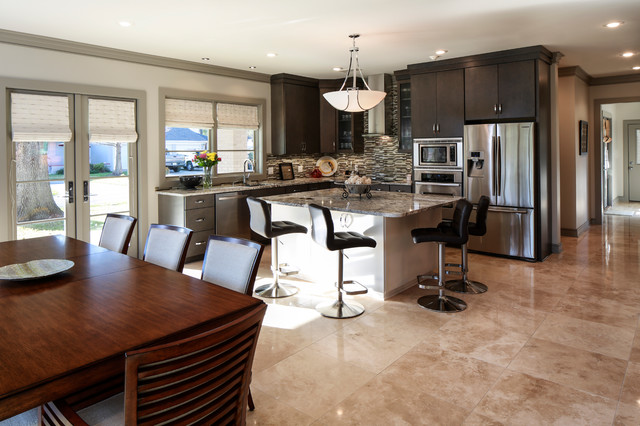 Higgins Residence contemporary-kitchen