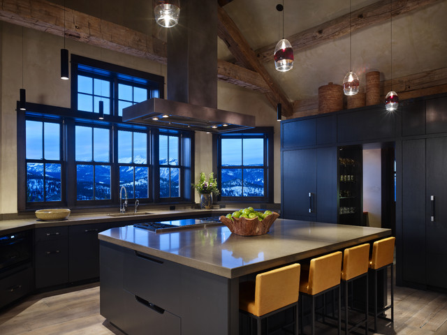 Yellowstone Residence Kitchen contemporary kitchen