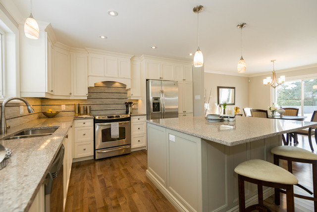 High End Home Staging In Ottawa By Capital Home Staging Design Transitional Kitchen