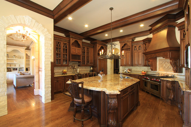 High end kitchen design for Kitchen design houzz