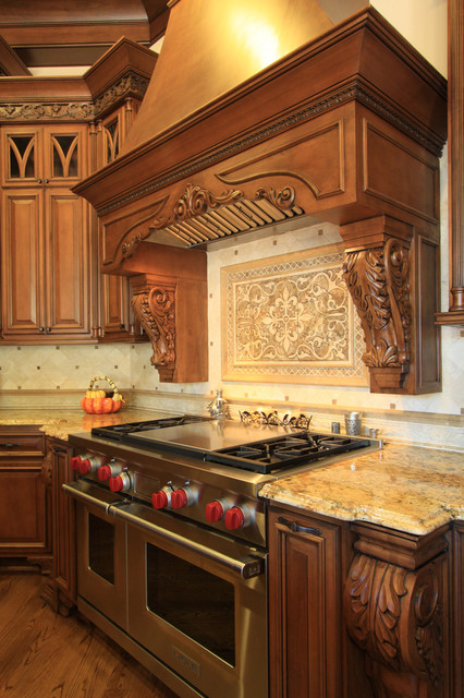 High End Kitchen Design Traditional Kitchen