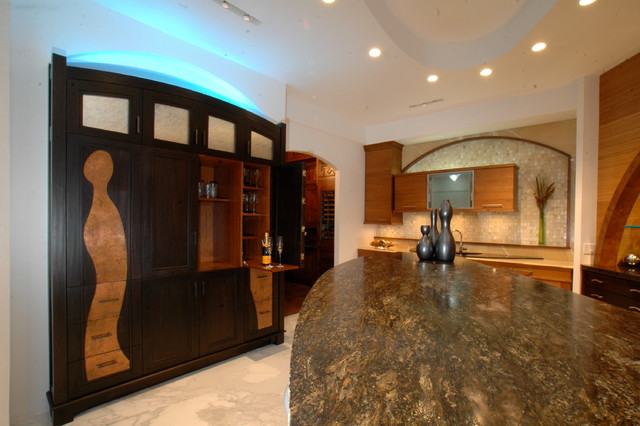 High-End Kitchen Luxury eclectic-kitchen