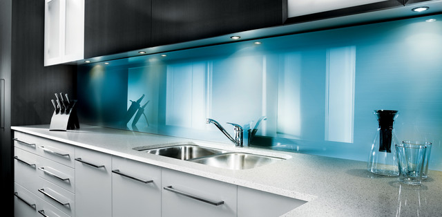 High Gloss Acrylic Wall Panels For Bathrooms amp Kitchens Contemporary Kitchen Columbus By