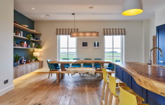 Kitchen Tour: A Colourful Family Kitchen for a Modern Farmhouse