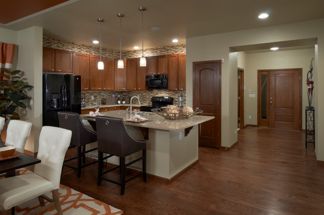 High Point Bliss Model Kitchen traditional-kitchen