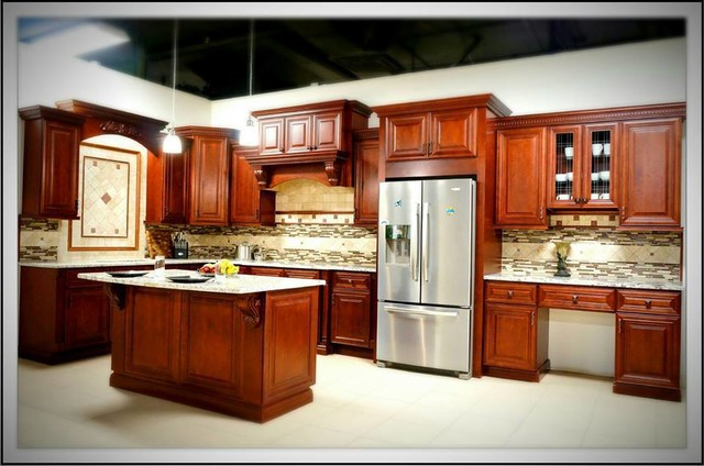 High quality stock semi custom cabinets traditional for Semi custom kitchen cabinets