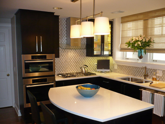 Kitchen Remodel Chicago Best High Rise Condo Kitchen Remodel Chicago  Contemporary  Kitchen . Review