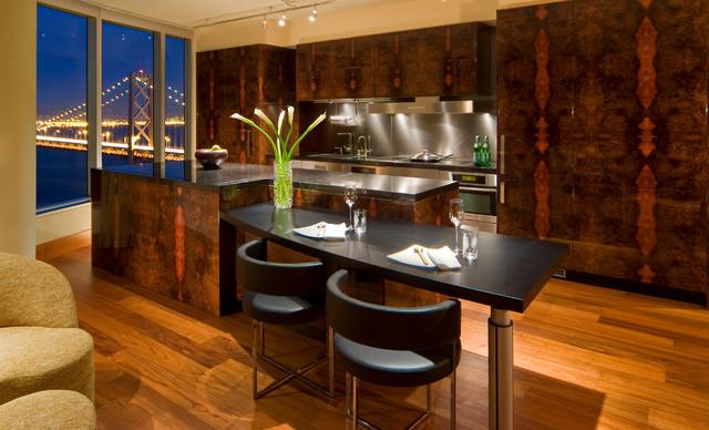 High Rise Condo Modern Kitchen San Francisco By