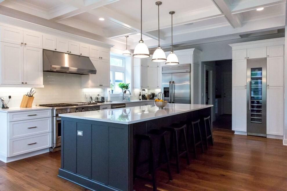 High Style Custom Home - Kitchen - Detroit - by Ann Arbor ...