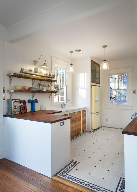 Highland eclectic-kitchen