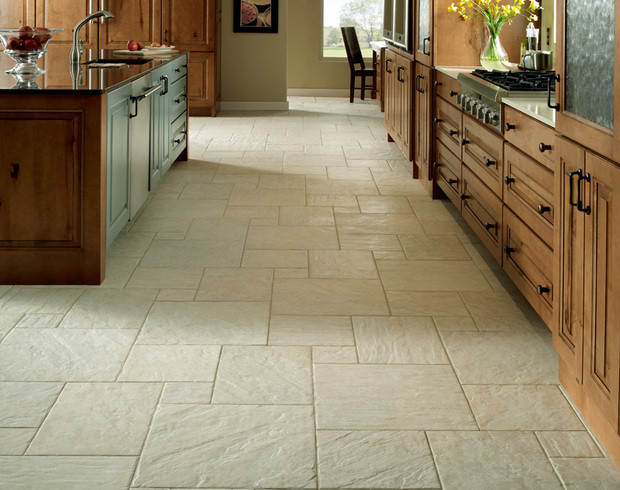 kitchen tile floor designs highland dover mediterranean kitchen cincinnati by 6257