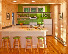 Highland Lake House kitchen rustic-kitchen