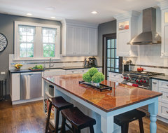 Highland Park Custom Home Remodel traditional-kitchen