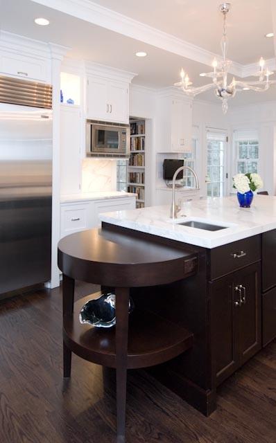 Highland Park Residence traditional-kitchen