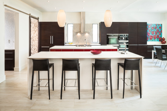 Highland Village Soft Modern Contemporary Kitchen Houston By Winfrey Design Build
