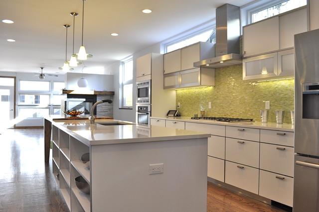 Highlands, Denver - Contemporary - Kitchen - denver - by Red Pepper Design & Cabinetry