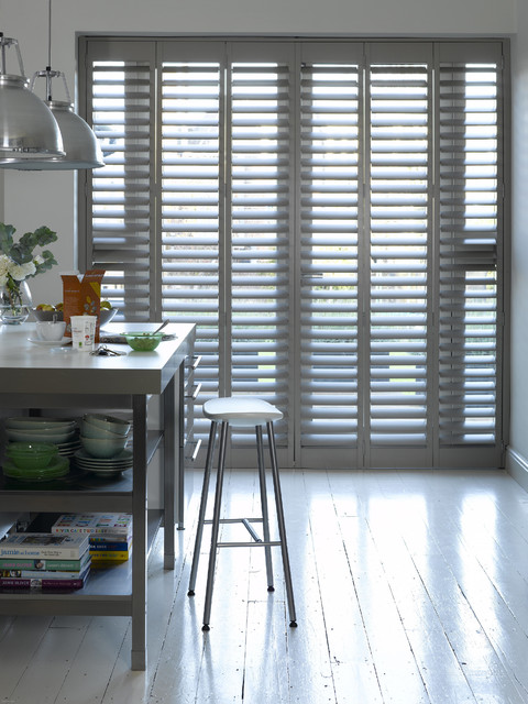 Highprofile Shutters contemporary-kitchen