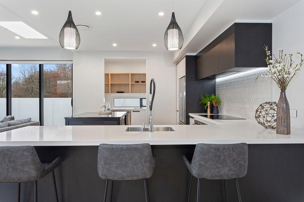 Highsted Canterbury Showhome Modern Kitchen Christchurch By David Reid Homes Houzz