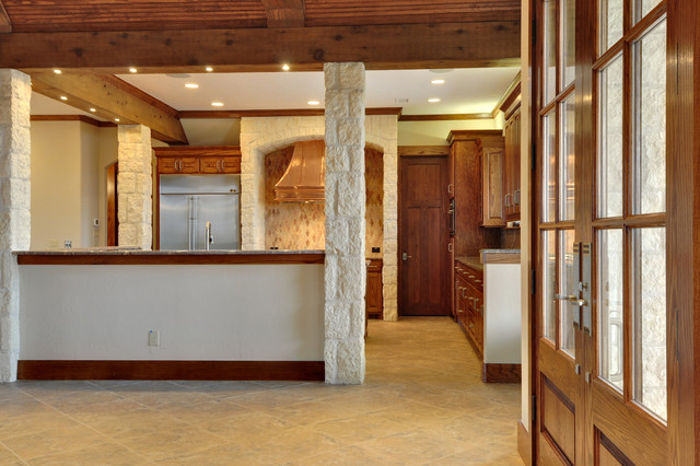 Hill Country Kitchen Rustic Kitchen Dallas By