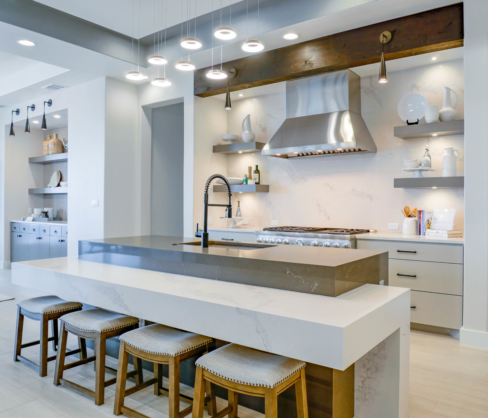 Hill Country Modern - Contemporary - Kitchen - Austin - by ...