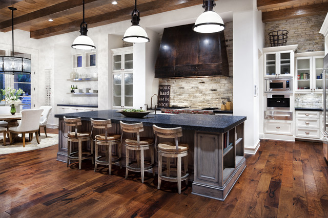 Hill Country Modern rustic-kitchen