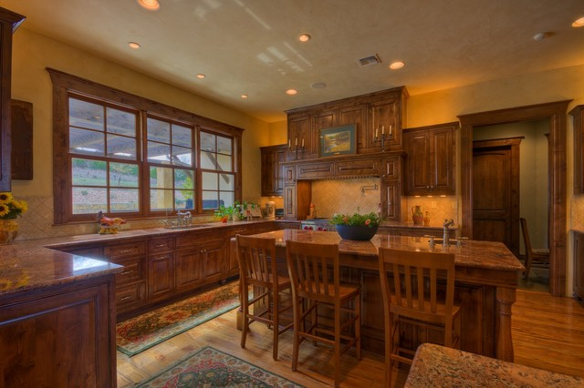 Hill Country Ranch II traditional-kitchen