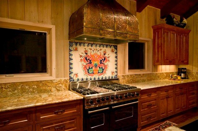 Hill Country Ranch traditional-kitchen