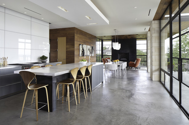 Hill Country Residence Modern Kitchen Austin By