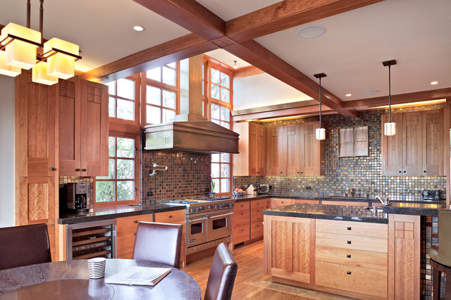 Hillcrest Remodel Craftsman Kitchen San Francisco
