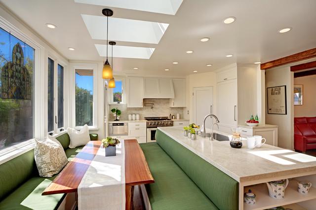 Hillcrest Retreat traditional-kitchen