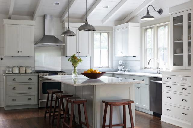 Hillsboro west end cottage transitional kitchen for Style kitchen nashville tn