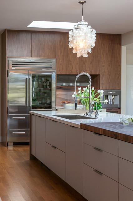 Hillsborough Contemporary Ranch Contemporary Kitchen San Francisco By Christine Sheldon