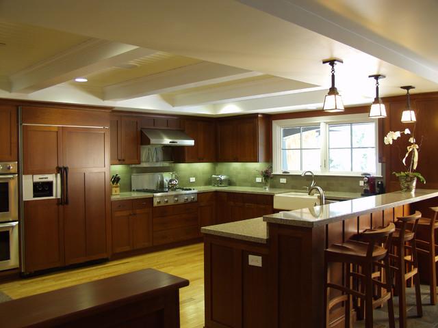 Hillsborough Shingle Style Home traditional-kitchen