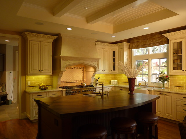 Hillsborough Tudor Home traditional-kitchen